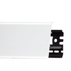 Плінтус пластиковий Arbiton INDO 01 Білий глянець