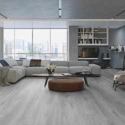 Ламінат My Floor Residence Дуб Макро Світло Сірий ML1019