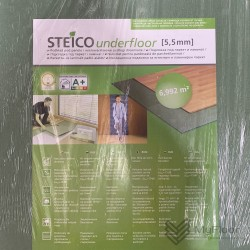 Підкладка Steico Underfloor (тиха хода) 5.5мм